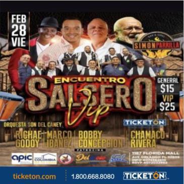 ENCUENTRO SALSERO VIP: Main Image