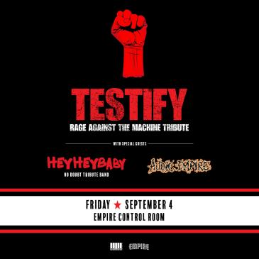 Testify: Rage Against The Machine Tribute-img