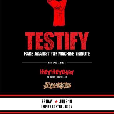 Testify: Rage Against The Machine Tribute-img