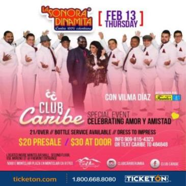 CLUB CARIBE PRESENTS SONORA DINAMITA