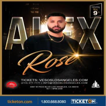 ALEX ROSE  CONCERT: Main Image