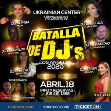 BATALLA DE DJ S: Main Image
