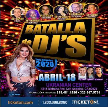 POSTPONED-BATALLA DE DJ S: Main Image