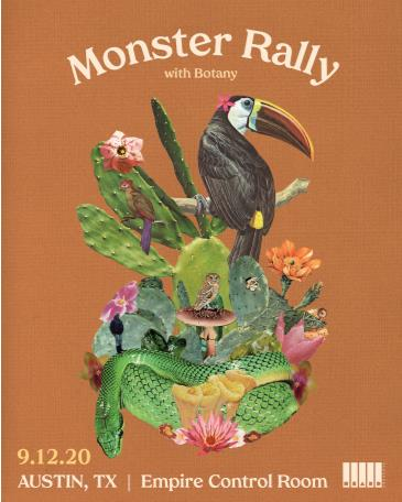 POSTPONED TBD: Monster Rally w/ Botany (Postponed from 4/16): Main Image