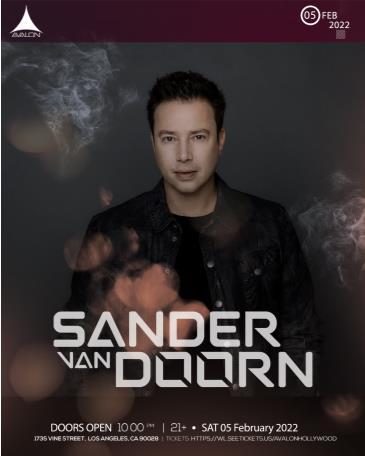 SANDER VAN DOORN: