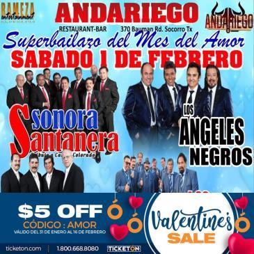 SONORA SANTANERA /LOS ANGELES NEGROS: Main Image