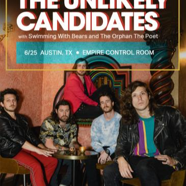 Unlikely Candidates w/ Swimming w Bears (Postponed from 5/8)-img