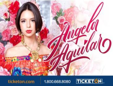 ANGELA AGUILAR -COMO LA FLOR TOUR: Main Image