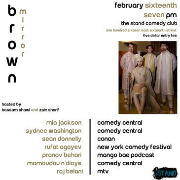 Brown Mirror Comedy!: Main Image