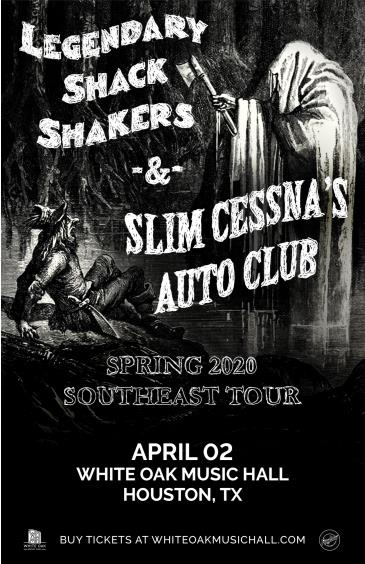 Legendary Shack Shakers and Slim Cessna's Auto Club: Main Image