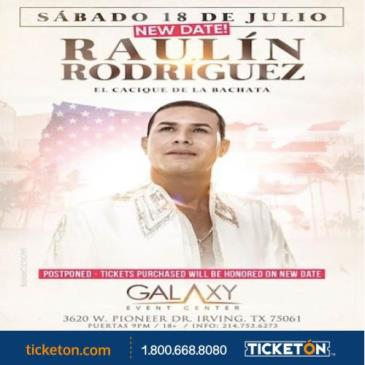 RAULIN RODRIGUEZ EN DALLAS: Main Image