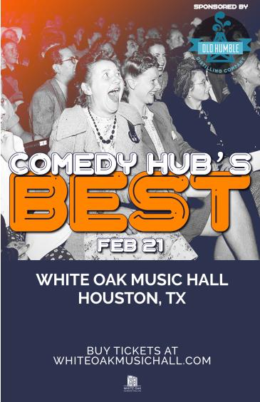 Comedy Hub Houston Presents: Comedy Hub's Best: Main Image