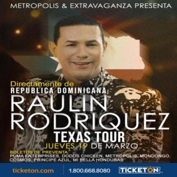 POSTPONED RAULIN RODRIGUEZ: Main Image