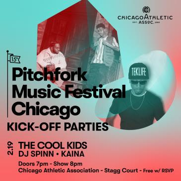 Pitchfork Music Festival: The Cool Kids, DJ Spinn, and KAINA: Main Image