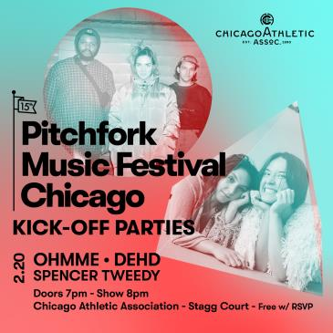 Pitchfork Music Festival: Ohmme, Dehd, and Spencer Tweedy: Main Image