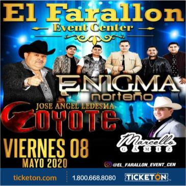 POSTPONED-ENIGMA NORTENO/EL COYOTE/MARCELLO GAMIZ
