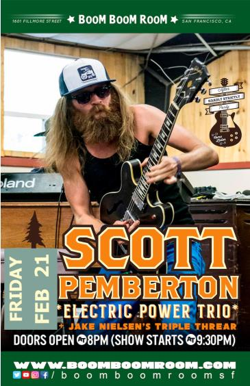 SCOTT PEMBERTON Electric Power Trio (+ Jake NIelsen Triple): Main Image