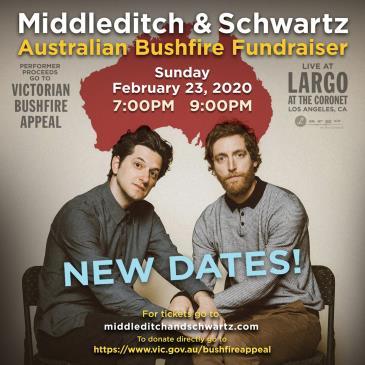 Middleditch & Schwartz - AU Bushfire Fundraiser LATE SHOW: Main Image