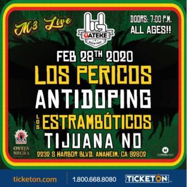 LOS PERICOS, ANTIDOPING
