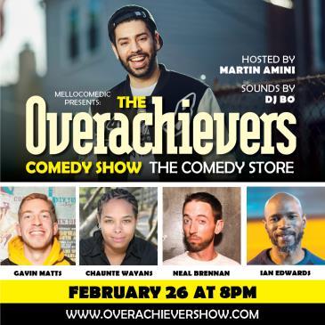 Overachievers - Neal Brennan, Ian Edwards, Chaunte Wayans!-img