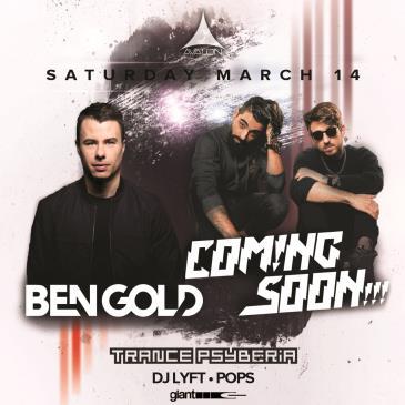 BEN GOLD, COMING SOON!!!, TRANCE PSYBERIA: Main Image