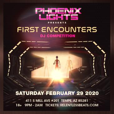 First Encounters DJ Competition: Main Image