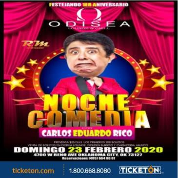 NOCHE DE COMEDIA EN OKC