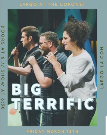 Big Terrific (POSTPONED TBA): Main Image
