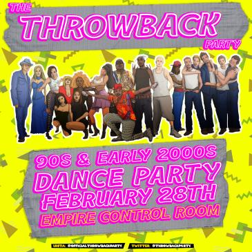 The Throwback Party at Empire Control Room: Main Image