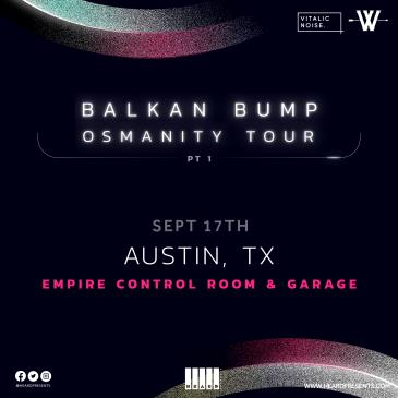Balkan Bump (Postponed from 4/9): Main Image