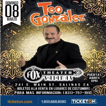 TEO GONZALEZ: Main Image