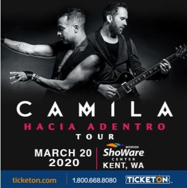 CAMILA HACIA ADENTRO TOUR: Main Image