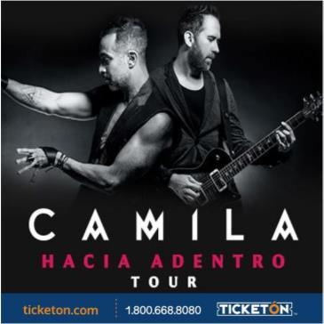 CANCELLED-CAMILA - HACIA ADENTRO TOUR: Main Image