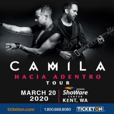 CAMILA - HACIA ADENTRO TOUR