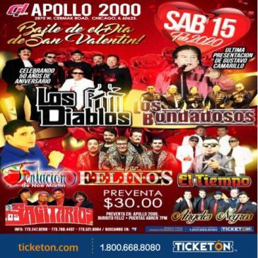 LOS DIABLOS & LOS BONDADOSOS: Main Image