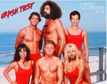 Rob Huebel & Paul Scheer present CRASH TEST (POSTPONED TBA): Main Image