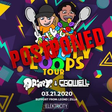 DRIPPY & CROWELL Limited Free w/ RSVP Before 11PM POSTPONED: Main Image