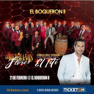 LOS HNS FLORES Y EL TITI (GREGORIO PERNIA)EL BOQUERON ||: Main Image