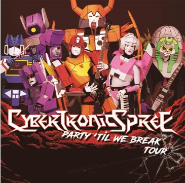 RESCHEDULED: The Cybertronic Spree @ HI-FI: Main Image