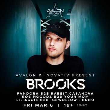 Avalon Fridays & Inovativ Present: BROOKS-img