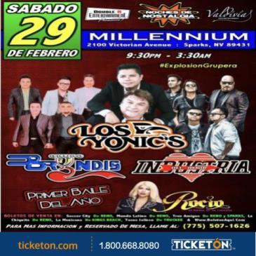 LOS YONICS, GRUPO BRYNDIS & INDUSTRIA DEL AMOR