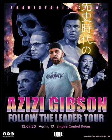 Azizi Gibson (Postponed from 5/7): Main Image