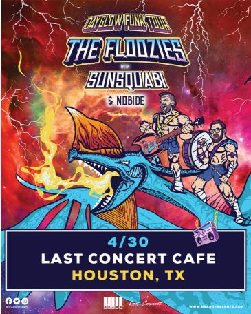 Postponed- The Floozies: Dayglow Funk Tour w Sunsquabi +More: Main Image