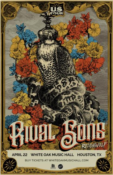 Rival Sons with Reignwolf and Jameson Burt (POSTPONED TBD): Main Image