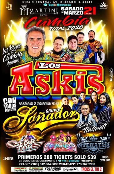 LOS ASKIS, GRUPO SONADOR: Main Image