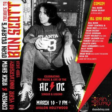 Comedy and Rock show: A tribute to Bon Scott of AC/DC: Main Image