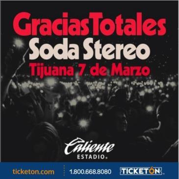 GRACIAS TOTALES SODA STEREO: Main Image