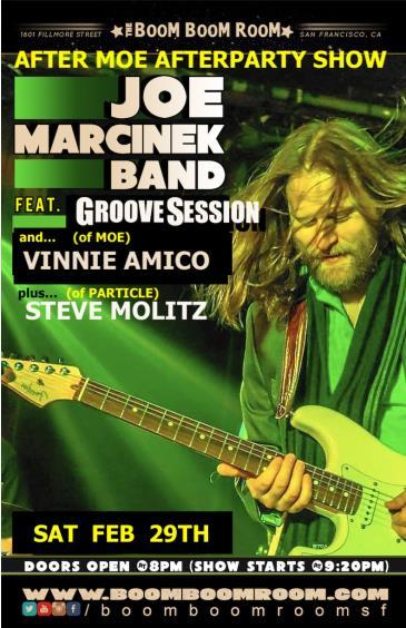 GrooveSession & Joe Marcinek + Vinnie (Moe), Steve Molitz ++: Main Image