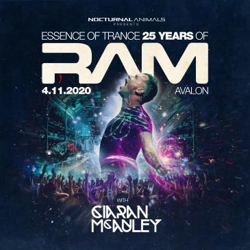 ESSENCE OF TRANCE 25 YEARS OF RAM  (POSTPONED TBA): Main Image