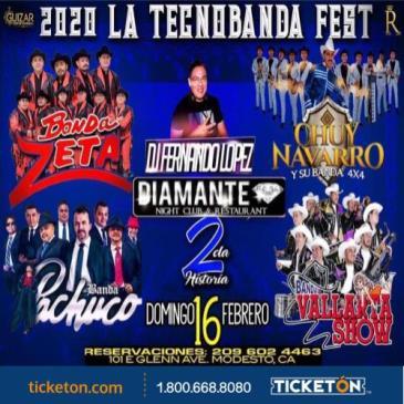 2020 LA TECNOBANDA FEST: Main Image